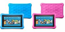 "Premium Tempered Glass Protector For Amazon Kindle Fire Kids Edition 7"" 2015"