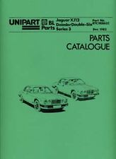 JAGUAR XJ 12 Series 3 1982 parts manual RTC9886CC book paper