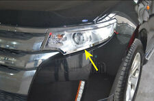Ford Edge 2011 2012 2013 Chrome Front Light Headlight Lamp Cover Trim