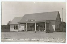 Belfast Searsport RPPC Penobscot Gift Shop Rte 1 Vintage Real Photo Postcard