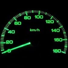 Dash Cluster Gauge GREEN SMD LED LIGHTS KIT Fits 01-07 Chrysler Town and Country