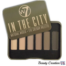 W7 In The City Pallette 6 Eye Shadow  NATURAL NUDES W7003