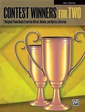 Contest Winners for Two, Bk 1: 7 Original Piano Duets from the Alfred, Belwin, a
