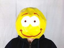 Smiley Face Mask Happy Rave Dancer Fancy Dance Music Festival Party