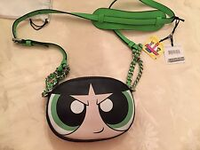 Moschino Couture JEREMY SCOTT Power Puff Girls LEATHER shoulder bag Buttercup