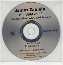 (GU259) James Zabiela, The Utilities EP - 2005 DJ CD