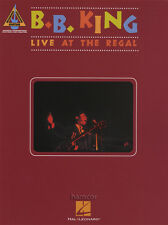 BB King Live at the Regal Guitar Recorded Versions TAB Music Book
