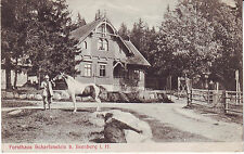 Germany AK Ilsenburg i. H. - Forsthaus Scharfenstein 1906 cover mailed postcard
