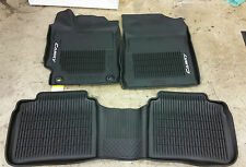 NEW ALL WEATHER MATS LINERS 2015 2016 2017 TOYOTA CAMRY (3 PIECE SET)