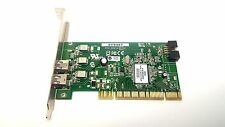 Dell AFW-2100 2-Port Firewire IEEE 1394 Low Profile PCI Card - Free Shipping