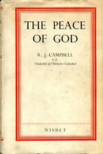 Campbell, R J  THE PEACE OF GOD 1936 Hardback BOOK