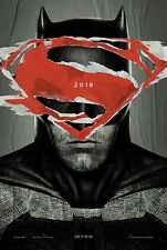 Batman V Superman Aube De Justice STYLE A double faces ORIGINAL AFFICHE DU FILM