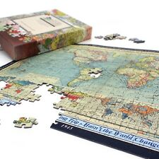 Personalised World Map Jigsaw Puzzle - Gift