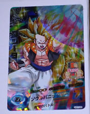 DRAGON BALL Z GT DBZ HEROES GALAXY MISSION PART 7 CARD PRISM CARTE HG7-33 SR DBH