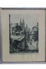 Hans Kirst (1914-1989) - Meissen, Altstadt , Original-Radierung
