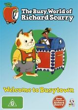 The Busy World of Richard Scarry: Welcome to Busytown Vol 1 - Ray Parker DVD NEW
