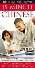 15-Minute Chinese Learn Chinese in Just 15 Minutes A Day. Book + 2 CD New Sealed