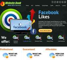 SEO Reseller Social Media web traffic Resell Business Website with HOSTING 12/Mo