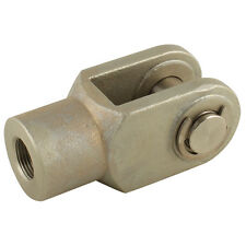 Air Pneumatic Cylinder Ram Piston Rod End Fork Clevis 32mm M10x1.25 ISO 15552