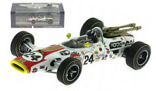 "SPARK 43in66 LOLA T90 ""Bollino ROSSO"" Winner Indy 500 1966-GRAHAM HILL SCALA 1/43"