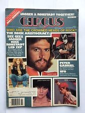 Circus Magazin September 1978, KISS, Thin Lizzy, Bee Gees, Ronstadt UFO Complete