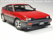 AUTOart 73262 1/18 Honda Ballade Sports CR-X Si Red