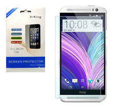 HTC ONE M8 2014 Clear Screen Protectors ( X1 )—Fast Ship From NYC