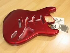 Fender Stratocaster Body Custom Shop '65 NOS Strat Body Candy Apple Red Global!