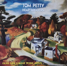 TOM PETTY AND THE HEARTBREAKERS ‎- Into The Great Wide Open (LP) (G/G-VG)
