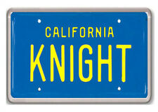 KNIGHT RIDER LICENSE PLATE FRIDGE MAGNET IMAN NEVERA EL COCHE FANTASTICO