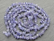 "TANZANITE CHIPS, approx 4x5mm, 32"", 350 beads"