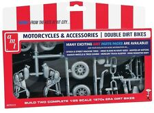 AMT 1:25 Double Dirt Bike Motorcycle Parts Pack PP014 AMTPP014