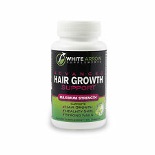White Arrow, Hair Growth Vitamin Supplement with 5000mcg Biotin for Fast Growth