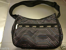 Lesportsac Classic Hobo Bag Crossbody Purse Balance Beam New with Tag