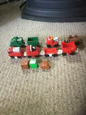 Pre Owned Fisher Price GeoTrax Accessories.  See Pictures For Details. BBBB