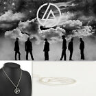 Linkin Park Chester/Mike/Joe/Rob Rock Band Inspired Symbol Logo Pendant Necklace