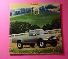 1993 TOYOTA T100 SALES SHOWROOM BROCHURE...16- PAGES