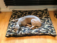KosiPet® Large Budget Economy Fibre Cushion Camo  Dog Bed,Beds