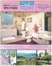 PUBLICITE  1970   CHATEL GUYON   Hotel  SPLENDID