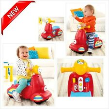 Scooter Toys Song Musical Kids Laugh Learn Baby Development Toddler Fisher-Price