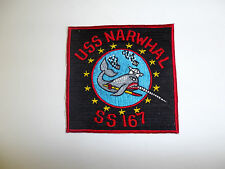 b8872 WW 2 US Navy Submarine Patch USS Narwhal SS 167 Awesome Because They are