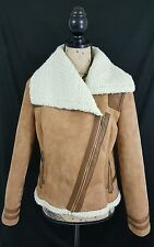 Old Navy Women's Beige  Zip Front Jacket Size Medium NWT