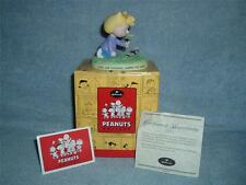SALLY Love Warms the Heart Hallmark Peanuts Gallery Figurine 2nd Edition COA New