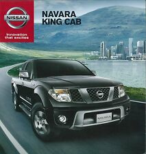 2013 NISSAN NAVARA KING CAB PROSPEKT BROCHURE CATALOGUE THAI