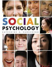 Social Psychology by Catherine A. Sanderson (Hardcover)