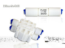 Auto Shut Off  Valve & Flow Restrictor 300 ML  24 GPD RO Reverse Osmosis System