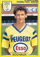 N°250 PIERRE-YVES BRICON FC.SOCHAUX VIGNETTE PANINI FOOTBALL 92 STICKER 1992