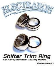 Electraeon Shifter Trim Ring for Harley Davidson Touring Motorcycles.