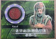 Stargate SG-1 Costume Card - C34 Erick Avarice as Kasuf