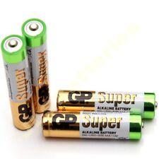 4 X Gp Super Aaa LR03 Baterías LR03 1.5 v Alcalinas De Alto Rendimiento de 2021